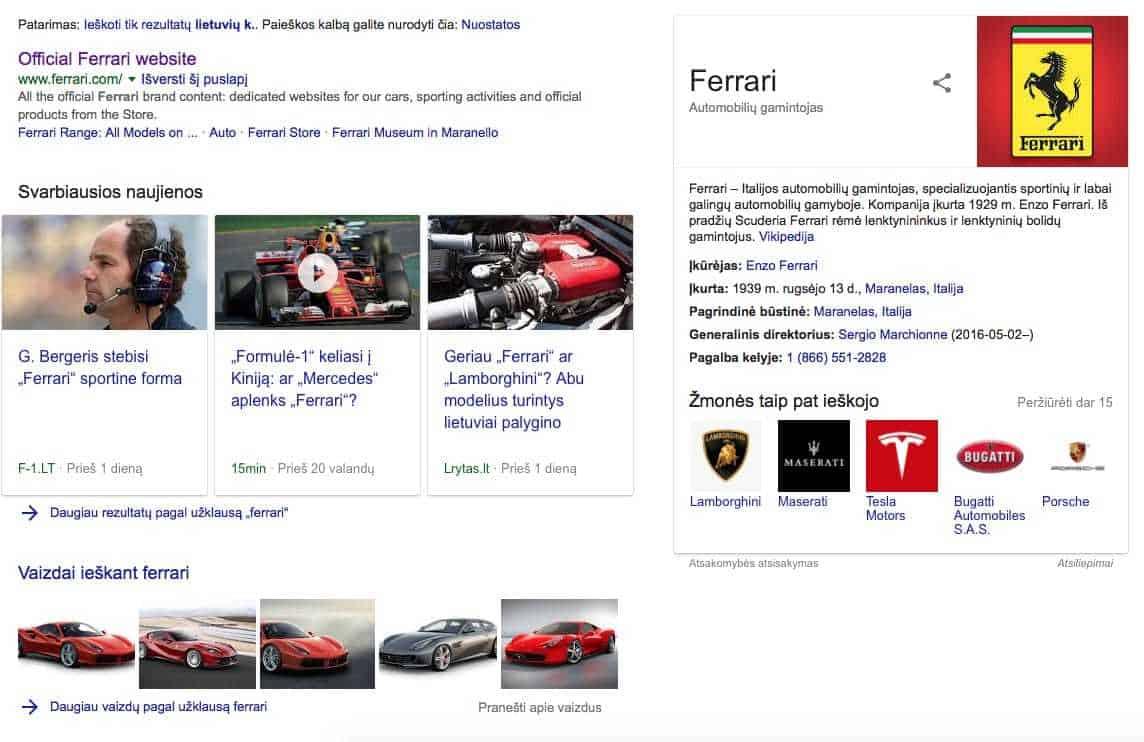 Ferrari firminis stilius