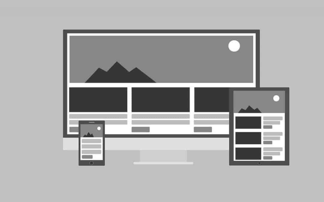 Responsive web dizainas