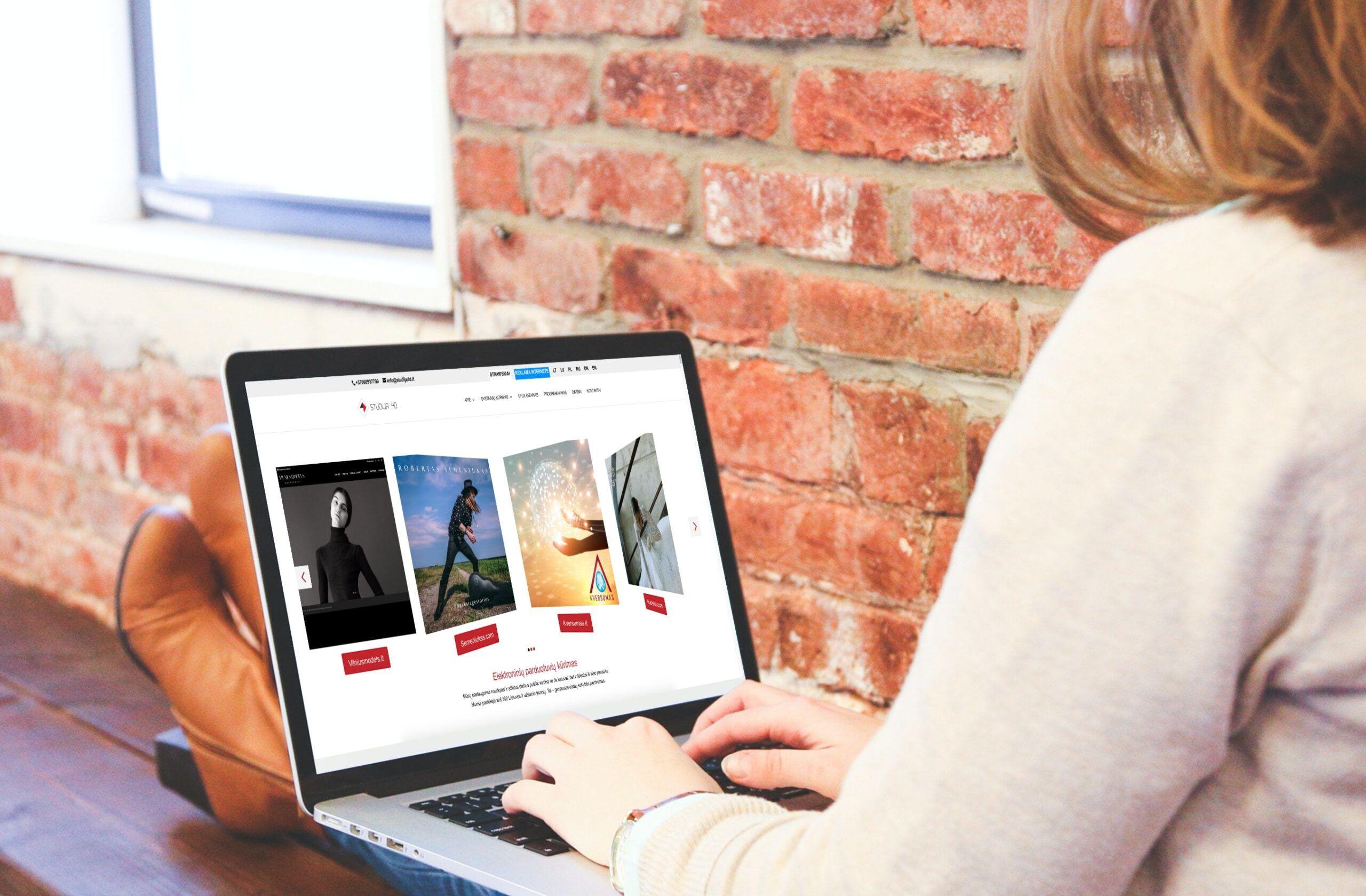 internetiniu parduotuviu kurimas, internetines parduotuves kurimas